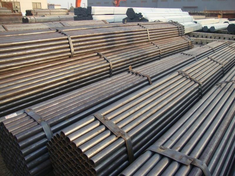 Black Iron Pipe/ERW Steel Pipe(19-219mm)