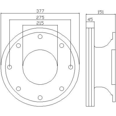 IVECO Brake Disc 2992271