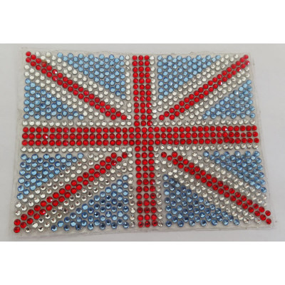 Union Jack diamond car sticker