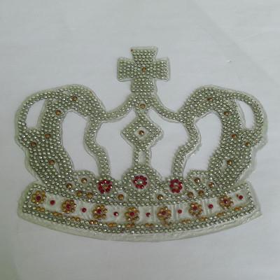 Imperial Crown Diamond Car Sticker