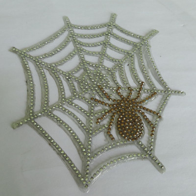 Spider Web Diamond Car Sticker