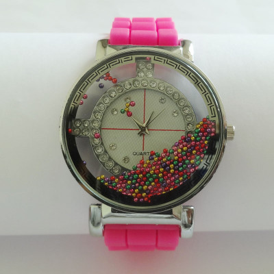 Fashion Silicone Watch In 3 Color Versions