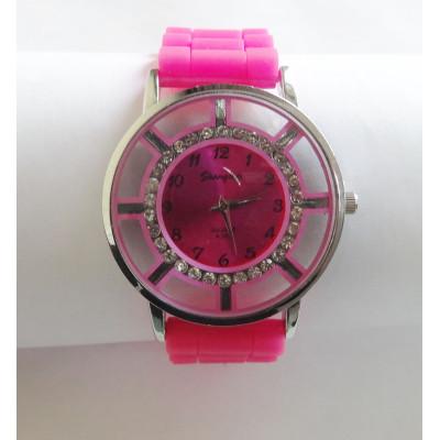 Fashion Lady's Shiny Color Watch