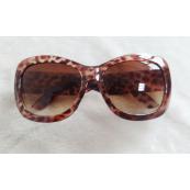 Gafas de sol de Leopardo de patilla ancha