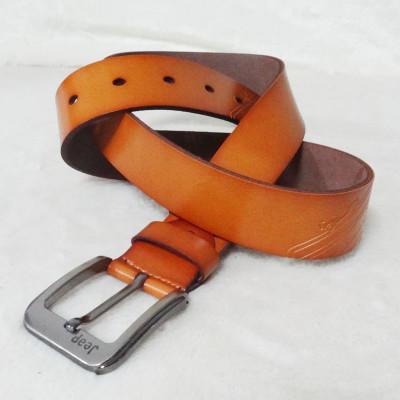 Stylish Brown Leather Belt