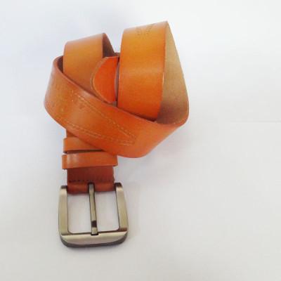 Fashion Brown Leather Belt