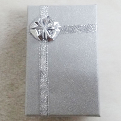 Free Shipping Cross Silk Box With Bow