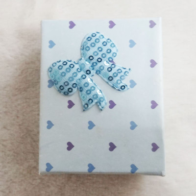 Free Shipping Loving Heart Box With Bow