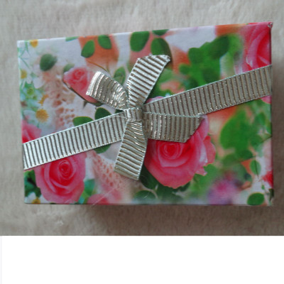 Free Shipping Stamp Box With Bow
