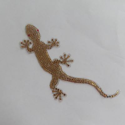 Gecko Diamond Car Sticker