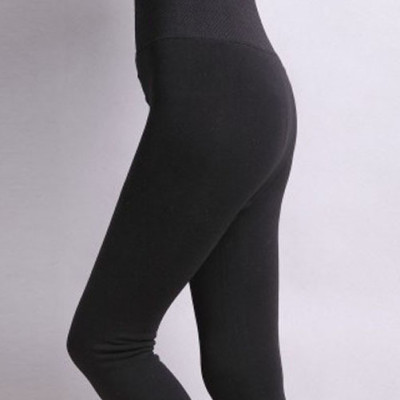 High Waist Thickened Leggings With Helicline Patterns