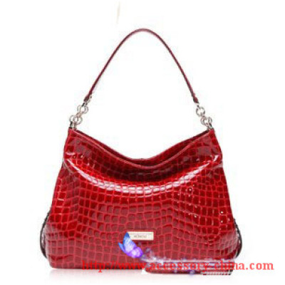 2012 Autumn New Korean Leather Handbags/ Shoulder Bags With Crocodile Pattern