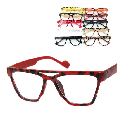 Leopard Control Favorite Fashion Framed Sunglasses With Non-mainstream Three-Dimensional