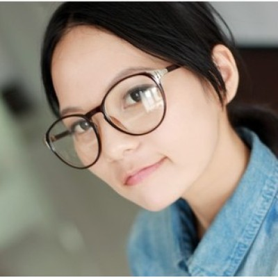 Free Shipping Non-mainstream And Retro Fashion With Metal Edging Of Great Circle Frame Thin Frame Plain Glass Spectacles For Tide People Sunglasses