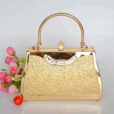 Princess Evening Handbag With Rhinestones