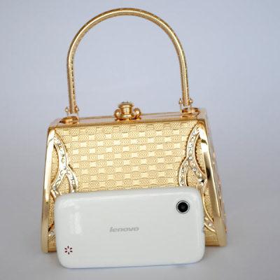 Princess Evening Handbag With Pattern