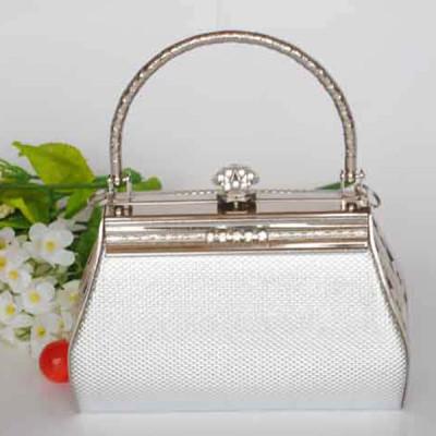 Silver Princess Evening Handbag