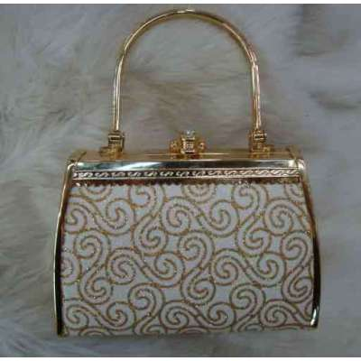 Princess Evening Handbag With Geometrical Pattern
