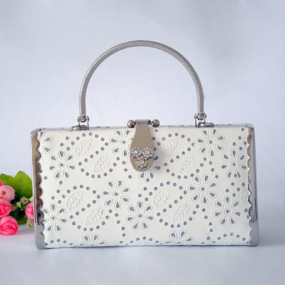 White Princess Evening Handbag