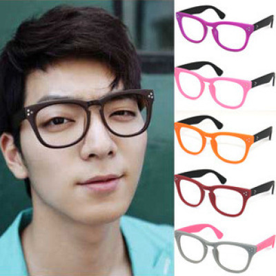 Free Shipping Retro Korean Style Nails And Metal Hinge Without Lenses For Fashion Sunglasses
