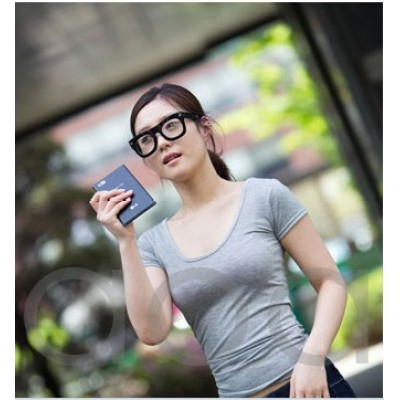 Free Shipping Retro Rough Side Box Frame And Jellies Color Transparent Frame For Fashion Sunglasses