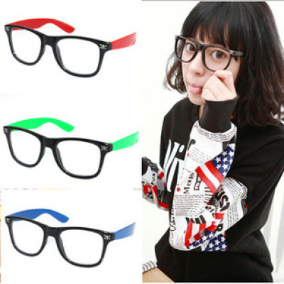 Free Shipping Fashion Female Essential Of Retro Plain Glass Spectacles