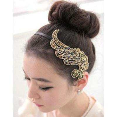 Fashion and jewelry, resin cloth, Phoenix fine Headband Headdress