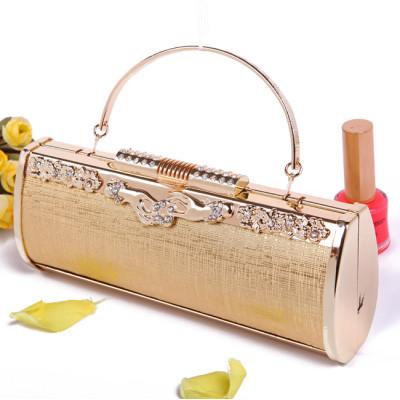 Shiny Princess Evening Handbag With Rhinestones