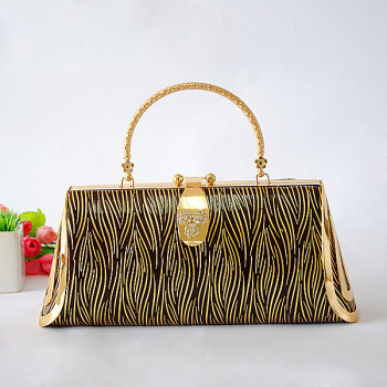 Princess Evening Handbag With Irregular Patterns