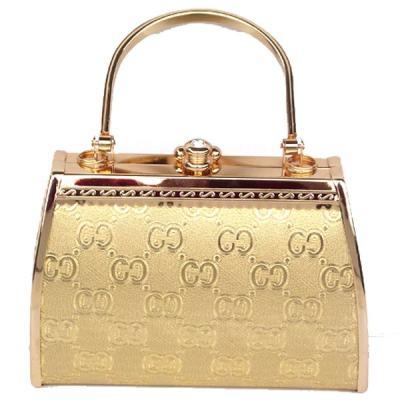 Shiny Gold Princess Evening Handbag