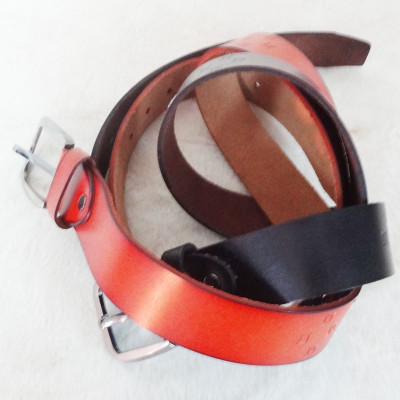 [Free Shipping] Genuine Leather Belt  Patterns