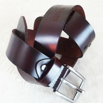[Free Shipping] Three Colors Genuine Leather Belt With Patterns