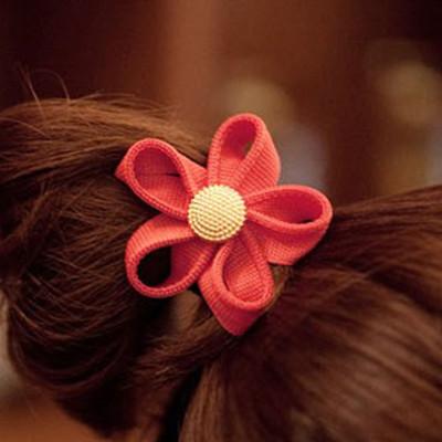 Free Shipping Zipper Teeth Side Flower Headband