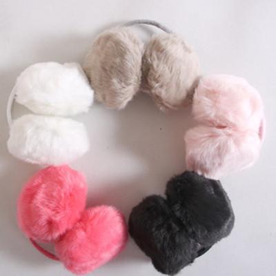 Korean queen imitation rabbit fur earmuffs ear warm winter buckle ear package ear cover earmuffs the ear warm