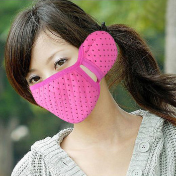 Korea lovely autumn and winter mouth earmuffs earmuffs warm fashion two-in-one-ear masks men and women couple thickened