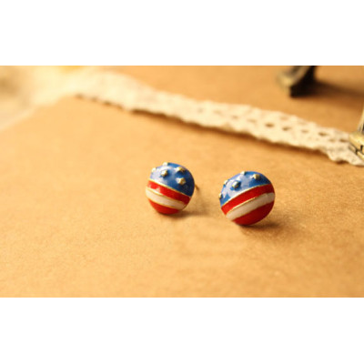 [Free Shipping] Jewelry Wholesale European And American Fashion Retro Earrings