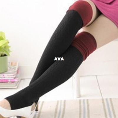 Free shipping Serratula was thin thickened Four Seasons knee piles of socks trample feet socks non-slip socks 66g