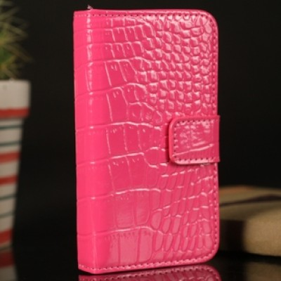 Free Shipping The factional Apple iphone5 crocodile pattern mobile phone sets turned around holster phone shell protective sleeve