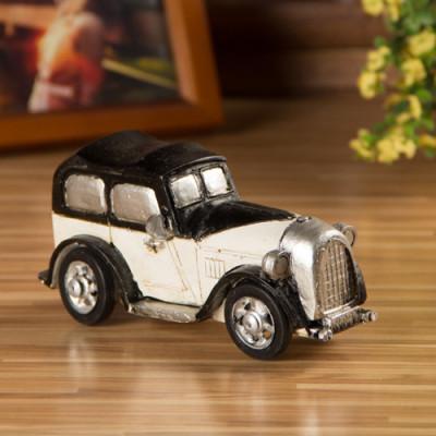 Retro Resin Classic Car Model Nostalgic Ornaments Gift