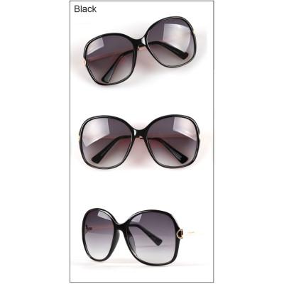 Hot Sale super big frame retro Ladies all-match UV400 sunglasses