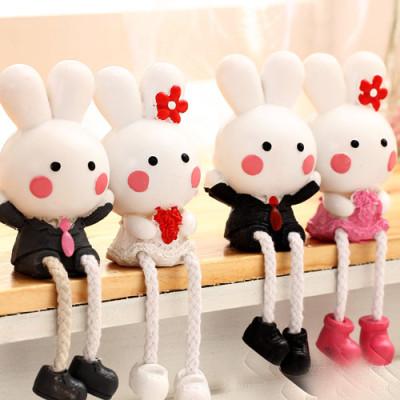 the the zakka groceries couple Tuzki / White Rabbit couple / resin dolls Piece Couples Series