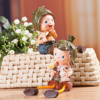 Factory Outlet bouquet doll resin doll ornaments hanging feet, Ming porcelain home set from the grant hot
