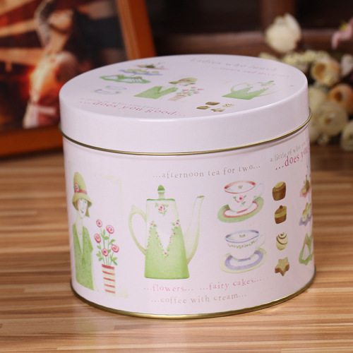 Happiness Jewelry Storage Tank / Tin Cans / Compartment Tank Storage Box