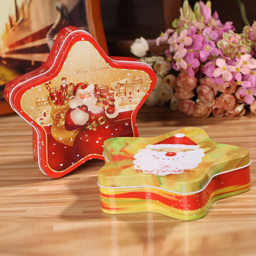 Star Storage Candy Tinplate Box