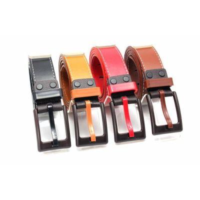 Factory wholesale fashion Korean all-match color lady belt men belt metal allergy