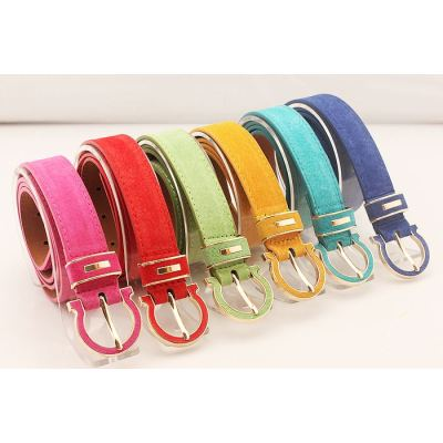Fashion And Casual Ladies Pigskin Belt Wholesale And Retail
