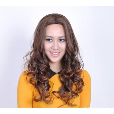 Semi-Long Curly Hair