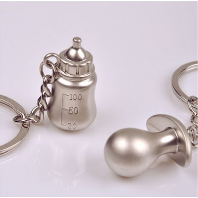 Free Shipping hot sale sweet pacifier lovers Keychain creative gift best personality gift pendant