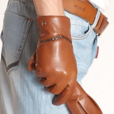 2012 New Men's Leather Gloves