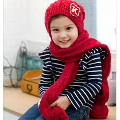 The K Word Serratula Hat Scarf A Children-piece Suit